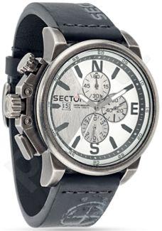 Laikrodis SECTOR   450 Chr Silver Dial Black Strap