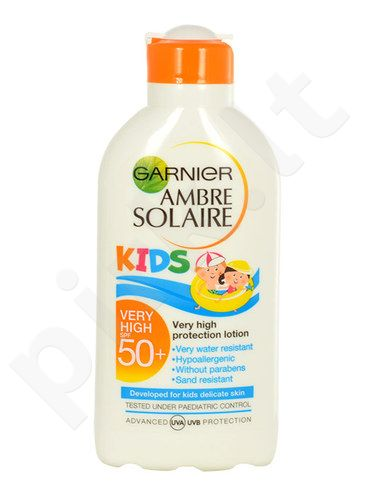 Garnier Ambre Solaire Kids Protection Lotion SPF50+, kosmetika moterims, 200ml