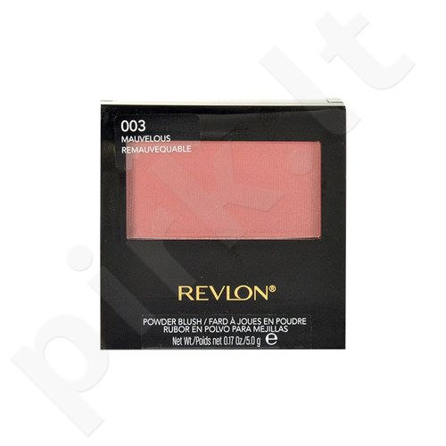 Revlon pudra skaistalai With Brush, kosmetika moterims, 5g, (003 Mauvelous)