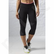 Sportinės kelnės Reebok Workout Ready Pant Program Capri 3/4 W AY2105