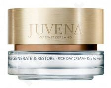 Juvena Regenerate & Restore Rich Day Cream, 50ml, kosmetika moterims