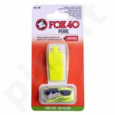 Švilpukas FOX40 Pearl + virvutė 9703-1308