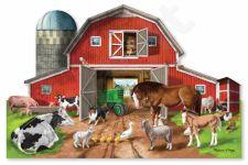 Grindų dėlionė Fermos gyvūnai Melissa & Doug, 12923