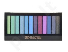 Makeup Revolution London Redemption šešeliu palete, Mermaids vs Unicorns, kosmetika moterims, 14g