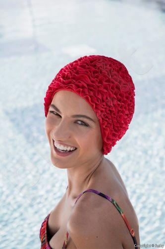 Kepuraitė plaukimui Frill Swim PE 3448 43 pink