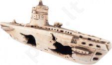 AQUA NOVA dekoracija paskendęs laivas 25x11x8 cm