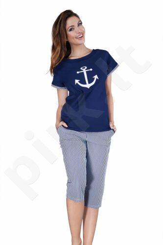 Babella pižama tamsiai mėlynos spalvos 3013 (limituota versija)