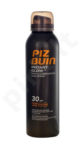 Piz Buin Instant Glow purškiklis SPF30, kosmetika moterims, 150ml