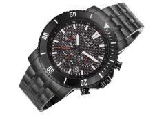 Esprit ES106861004 Barstow Midnight vyriškas laikrodis-chronometras