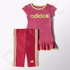 Komplektas Adidas Girls Sportinis kostiumas s Set Kids S21461