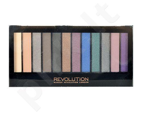 Makeup Revolution London Redemption šešeliu palete Hot Smoked, kosmetika moterims, 14g