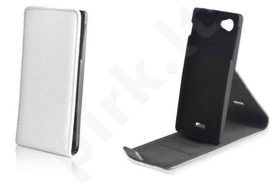 Sony Xperia Z1 dėklas STAND Forever baltas