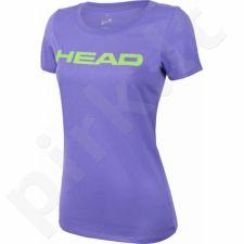 Marškinėliai tenisui Head Transition Lucy T-shirt W 814576-VIGN