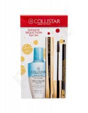 Collistar Infinito, rinkinys blakstienų tušas moterims, (blakstienų tušas 11 ml + akių kontūrų pieštukas With Applicator 1,2 g Black + makiažo valiklis Gentle Two Phase 50 ml), (Extra Black)