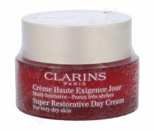 Clarins Super Restorative, dieninis kremas moterims, 50ml, (Testeris)