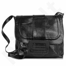 DAN-A T30 juoda rankinė iš natūralios odos , moteriška