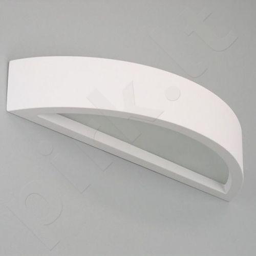 Sieninis šviestuvas gipsinis 10-OMEGA 40