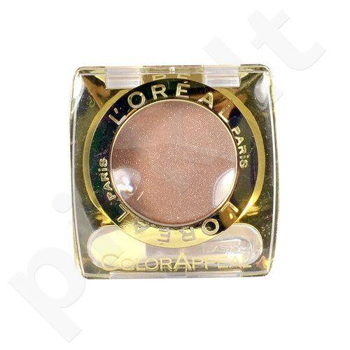 L´Oreal Paris ColorAppeal akių šešėliai, kosmetika moterims, 3,5g, (46 Crystal Brown)