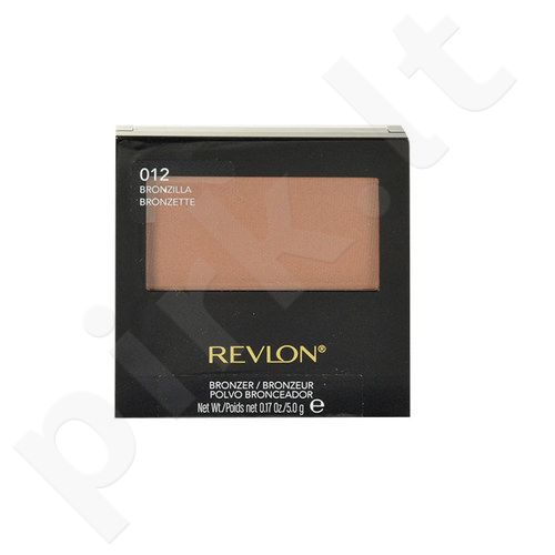Revlon Bronzer With Brush, kosmetika moterims, 5g, (012 Bronzilla)