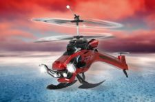 Radio bangomis valdomas Jamara Germany Flyrobot Heli 2,4 GHz