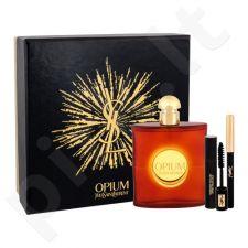 Yves Saint Laurent Opium 2009 rinkinys moterims, (EDT 90 ml + blakstienų tušas Volume Effet Faux Cils N 1 2 ml + akių kontūrų pieštukas atsparus vandeniui 1 0,8 g)
