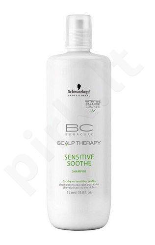 Schwarzkopf BC Bonacure Scalp Therapy Sensitive Soothe šampūnas, kosmetika moterims, 1000ml
