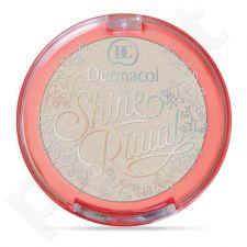 Dermacol Shine Ritual Eye-Cheeks-Lips, kosmetika moterims, 2g, (White)