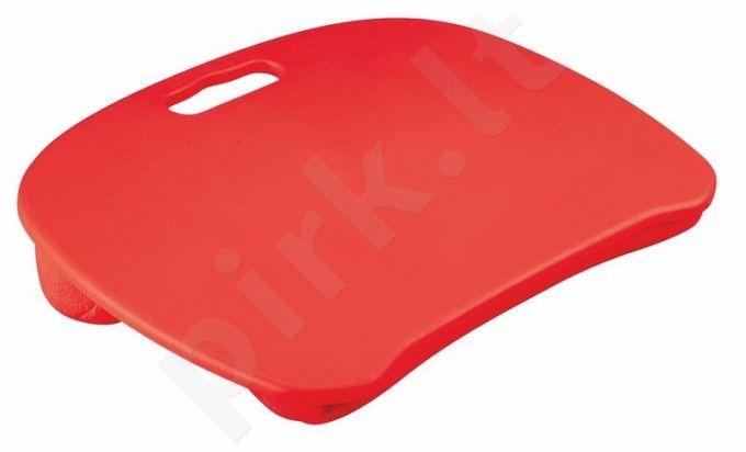 Padėklas nešiojamam kompiuteriui B28, raudonas