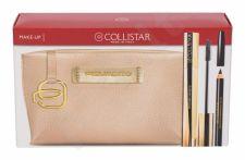 Collistar Infinito, rinkinys blakstienų tušas moterims, (blakstienų tušas 11 ml + akių kontūrų pieštukas 2 g Black + kosmetika krepšys Piquadro), (Extra Black)