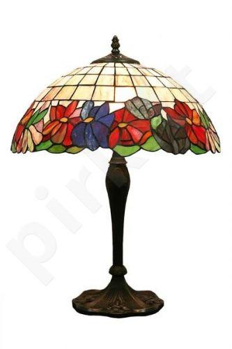 Vitražinė stalinė lempa 50765