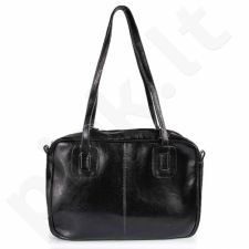 DAN-A T130 juoda rankinė iš natūralios odos , moteriška
