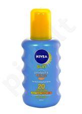 Nivea apsauga nuo saulės & Bronze purškiklis SPF20, kosmetika moterims, 200ml