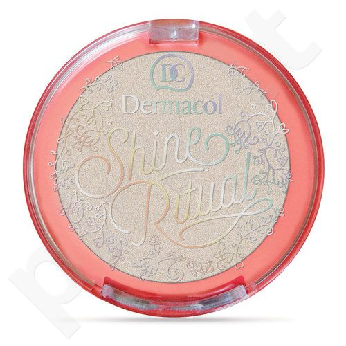 Dermacol Shine Ritual Eye-Cheeks-Lips, kosmetika moterims, 2g, (Ivory)