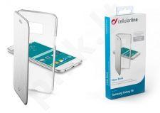 Samsung Galaxy S6 dėklas CLEARBOOK Cellular sidabrinis