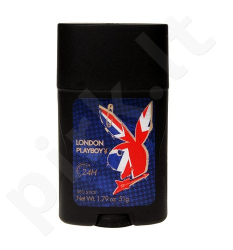 Playboy London, 51g, pieštukinis dezodorantas vyrams