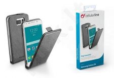 Samsung Galaxy S6 dėklas FLAP ESSEN Cellular juodas