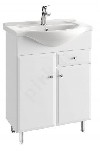 Vonios kambario spintelė su praustuvu 6504 D65 koj.