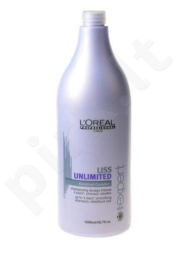 L´Oreal Paris Expert Liss Unlimited šampūnas, kosmetika moterims, 1500ml