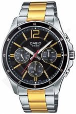 Laikrodis CASIO   MTP-1374SG-1A Multinfunction. 3 counters. wr 50 **ORIGINAL BOX**