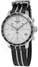 Laikrodis TISSOT QUICKSTER chronografas vyriškas TISSUE kvarcinis T0954171703707