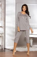 Babella pižama ESTIA (pilkos spalvos)