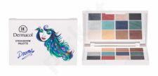 Dermacol Luxury Eyeshadow Palette, Drama, akių šešėliai moterims, 18g