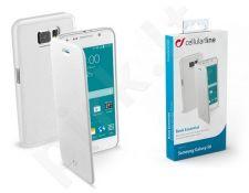 Samsung Galaxy S6 dėklas BOOK ESSEN Cellular baltas