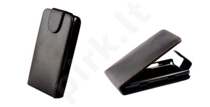 Samsung Galaxy S dėklas flip Forever juodas
