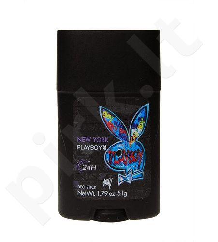 Playboy New York, 51g, pieštukinis dezodorantas vyrams