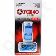 Švilpukas FOX CMG Classic Safety + virvutė 9603-0508 mėlynas