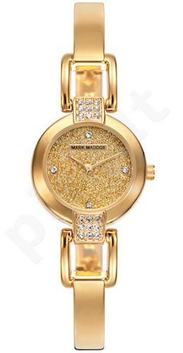 Moteriškas laikrodis MARK MADDOX – Golden chic. 24 mm. kvarcinis WR 30 meters