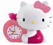 Pastatomas laikrodis-žadintuvas WAKE UP HELLO KITTY CLOCK HK25394