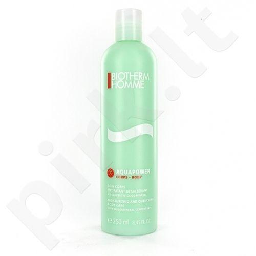(Testeris) Biotherm Homme Aquapower kūno drėkinamasis, 250ml, kosmetika vyrams