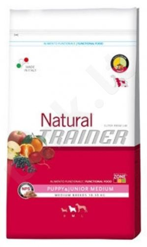 Trainer NATURAL Medium puppy (Vištiena/Kalakutiena) 3kg